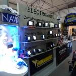 Mur de démonstration Electronique Marine
