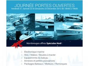 E mailing Portes Ouvertes 2012 Nord Nautic Loisirs